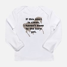 Dirty Barn Shirt w/ Horse Long Sleeve Infant T-Shi