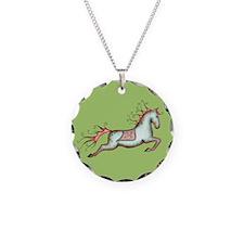 Capriole Horse Necklace
