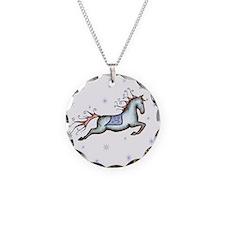 Starry Sky Horse Necklace