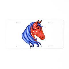 America Horse Aluminum License Plate