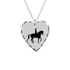 dressage silhouette Necklace