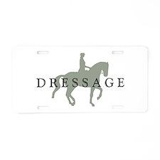 Piaffe w/ Dressage Text Aluminum License Plate