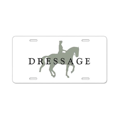Piaffe w/ Dressage Text Aluminum License Plate