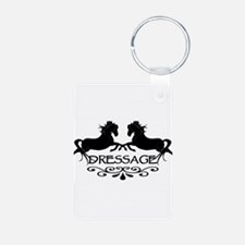 black capriole horses Keychains