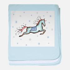 Starry Sky Horse baby blanket