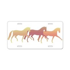 Cool Horse lovers Aluminum License Plate