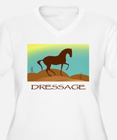 desert dressage w/ text T-Shirt