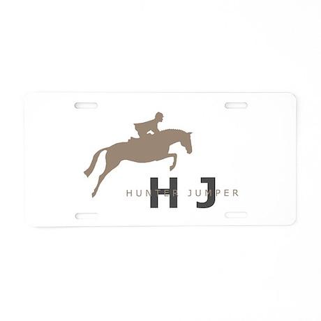 h/j horse Aluminum License Plate