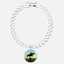 Hunter Jumper Grassy Field Bracelet