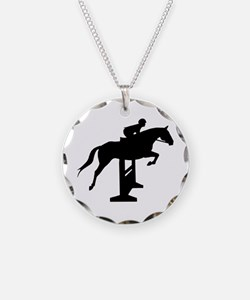 Hunter Jumper Over Fences Necklace