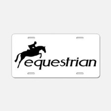 Cute Horse sayings Aluminum License Plate