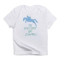 rather-jumping blue Infant T-Shirt