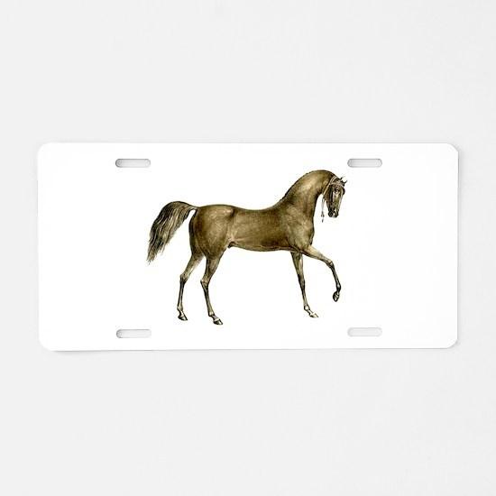 Vintage Horse Aluminum License Plate