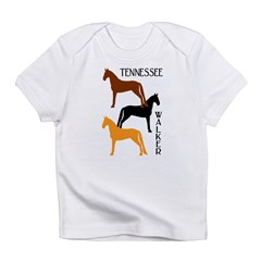 Tennessee Walkers in Colors Infant T-Shirt