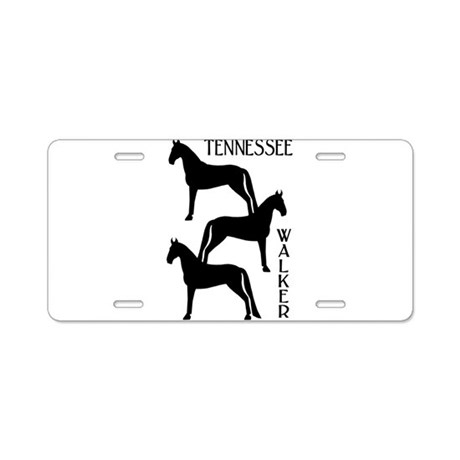 Tennessee Walkers Trio Aluminum License Plate