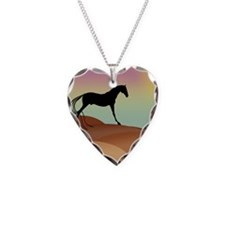 desert horse Necklace