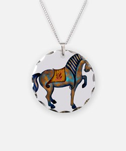 Cute Tang horses Necklace