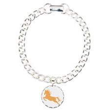 orange Leaping Horse Bracelet
