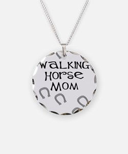 Walking Horse Mom Necklace
