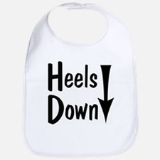 Heels Down! Arrow Bib