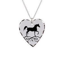 Infinity Arabian Horse Necklace