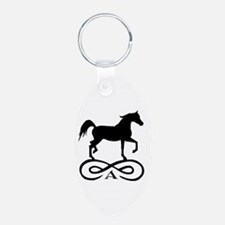 Infinity Arabian Horse Keychains