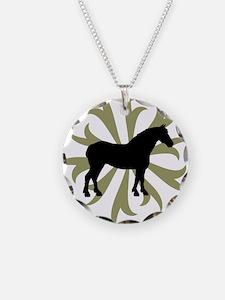 Draft Horse Sage Tribal Necklace