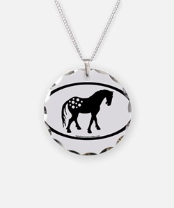 Cute Appy Oval Necklace