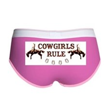 cowgirls rule Women's Boy Brief