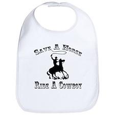 Ride A Cowboy Bib