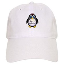 Penguin September Due Date Baseball Cap