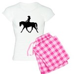 Cute Cowgirl on Horse Women's Light Pajamas