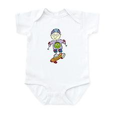 Skateboard Infant Creeper