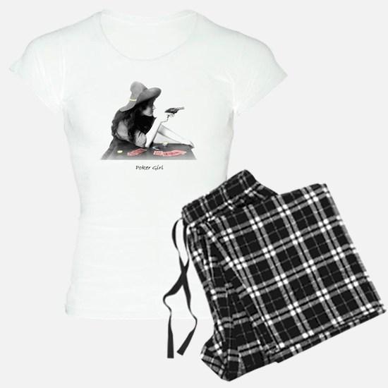 poker girl pajamas
