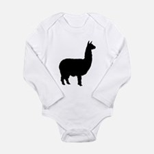 alpaca Long Sleeve Infant Bodysuit