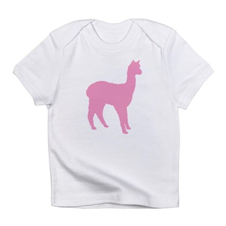 pink standing alpaca Infant T-Shirt