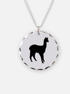 Standing Alpaca Necklace