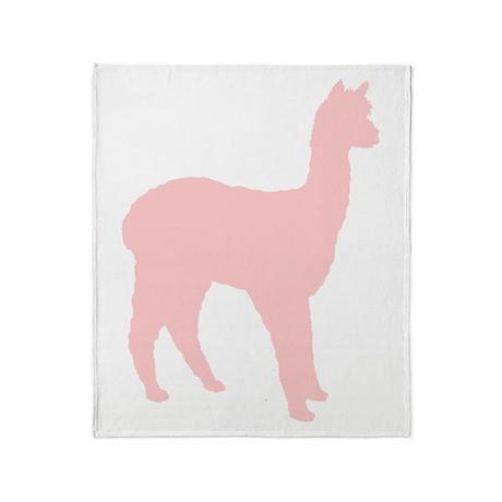 Alpaca (Style #2) Color Throw Blanket