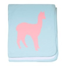 Alpaca (Style #2) Color baby blanket