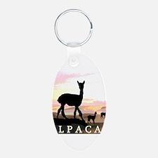 Sunset Hills Alpacas Keychains