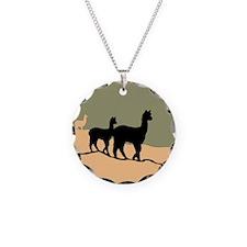 Alpacas Hillside Necklace