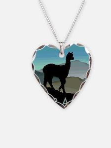 Blue Hills Alpaca Necklace