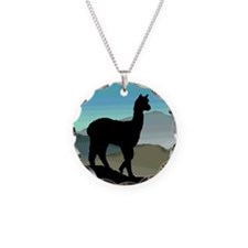 Blue Hills Alpaca Necklace