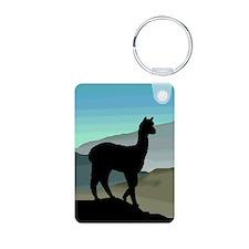 Blue Hills Alpaca Keychains