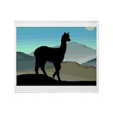 Blue Hills Alpaca Throw Blanket