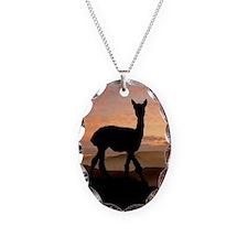 Alpaca Sunset Necklace