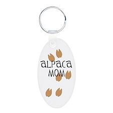 Alpaca Mom Keychains