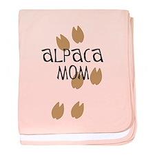 Alpaca Mom baby blanket