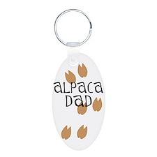Alpaca Dad Keychains