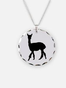Strolling Alpaca Necklace
